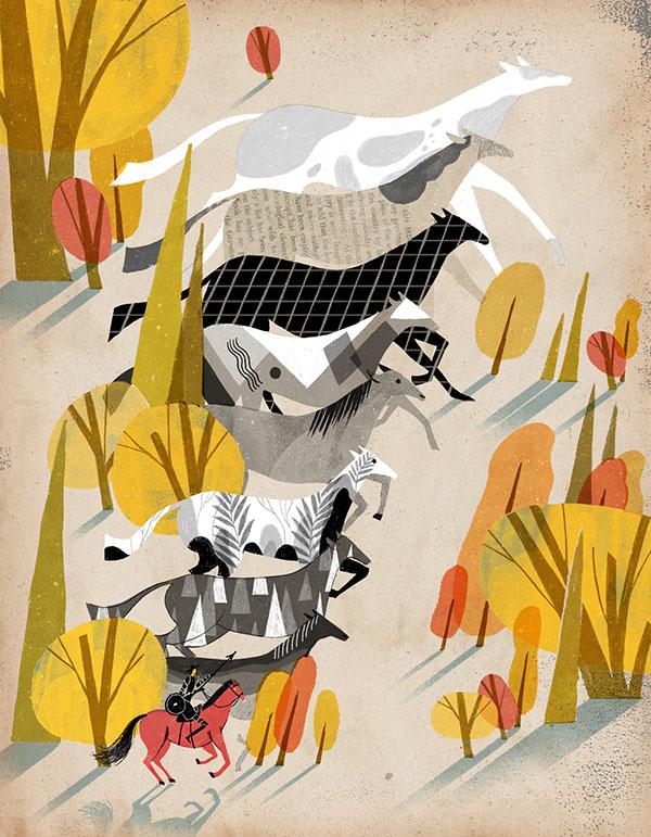 Don Quixote by Wenjia Tang