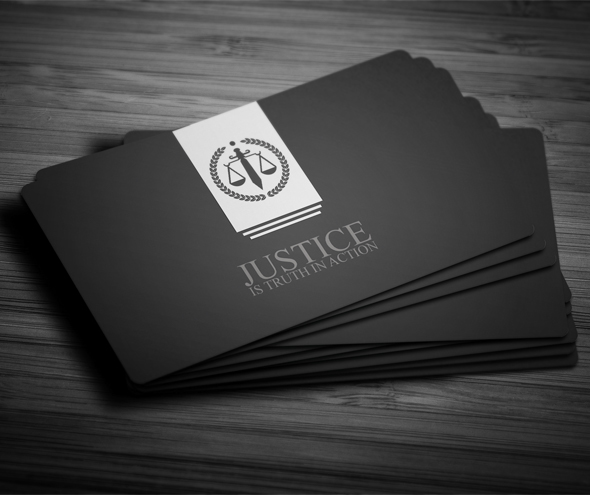 Creative Lawyer Business Card 5 on Behance