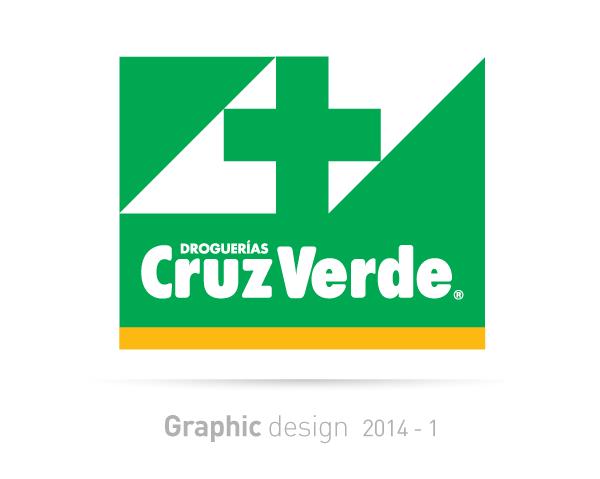cruz verde colombia graphic design content