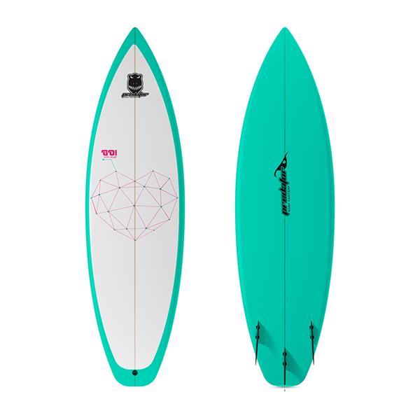 Dise o tablas de surf predator on behance - Tablas de surf decorativas ...