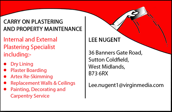 Business card design on behance i made some business cards for my dad to advertise his plastering business the designs shown above are the front and back of his cards which i made in colourmoves
