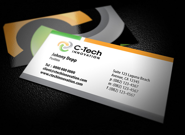 Business card designs on behance for Successful business cards