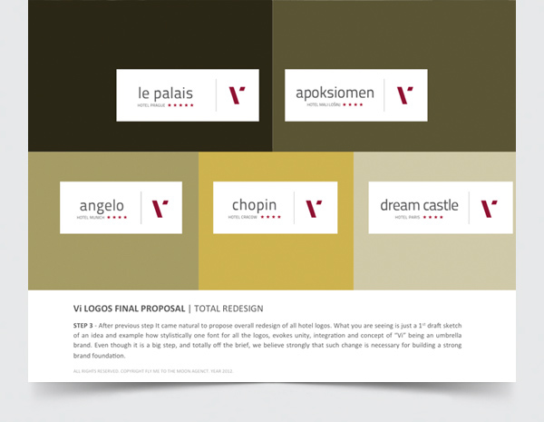 Rebranding Proposal For Vienna International Hotels On Behance
