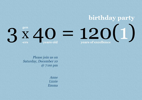 40th birthday ideas joint 40th birthday party ideas invitation design for combined 40th birthday party filmwisefo