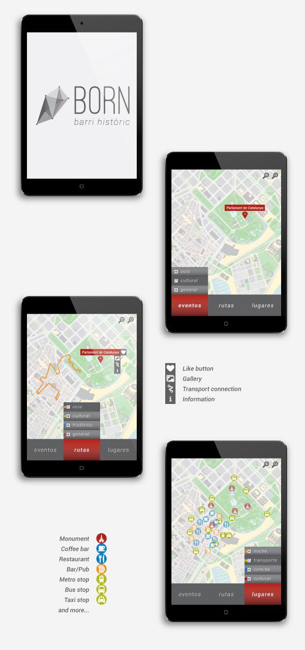 BORN - Barri històric (App layout)