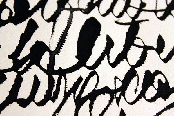 Experimental Calligraphy On Behance
