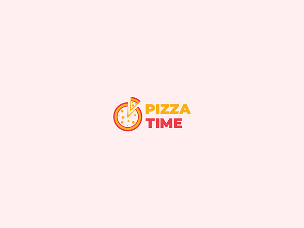Pizza Time Branding