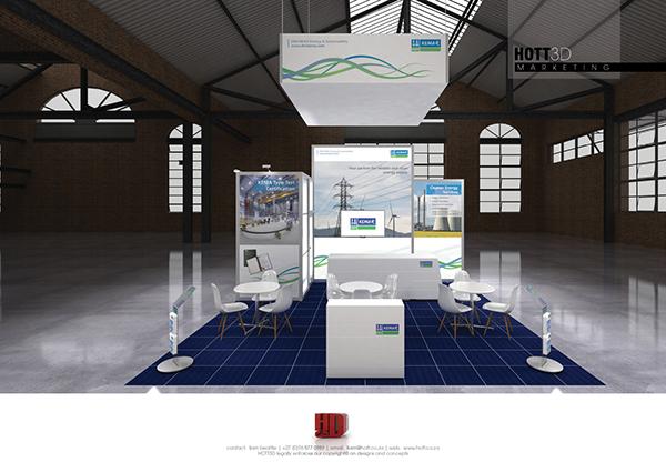Modular Exhibition Stand Zone : Dnvkema african utility week on behance