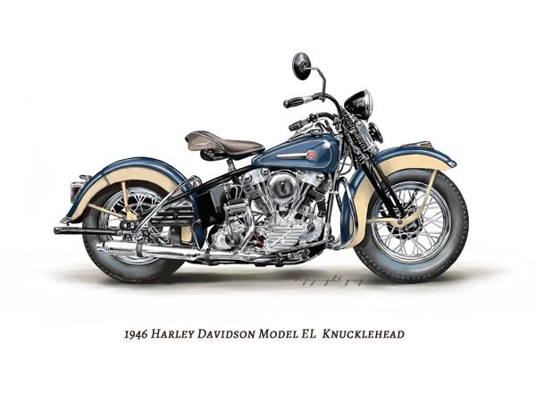 Vintage Harley Davidson on Behance