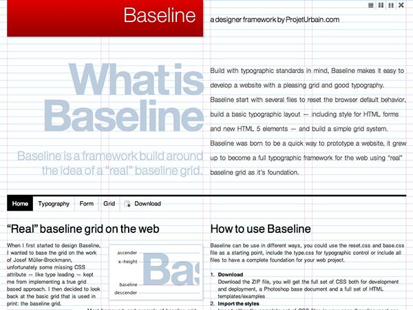 CSS Framework css3 html5