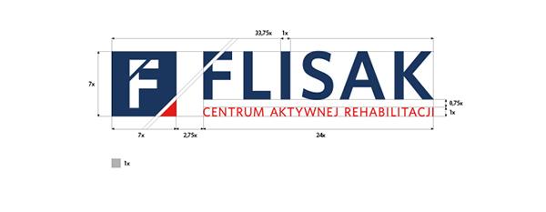 identity CI flisak navy blue rehabilitation nutrition Health sport red banner