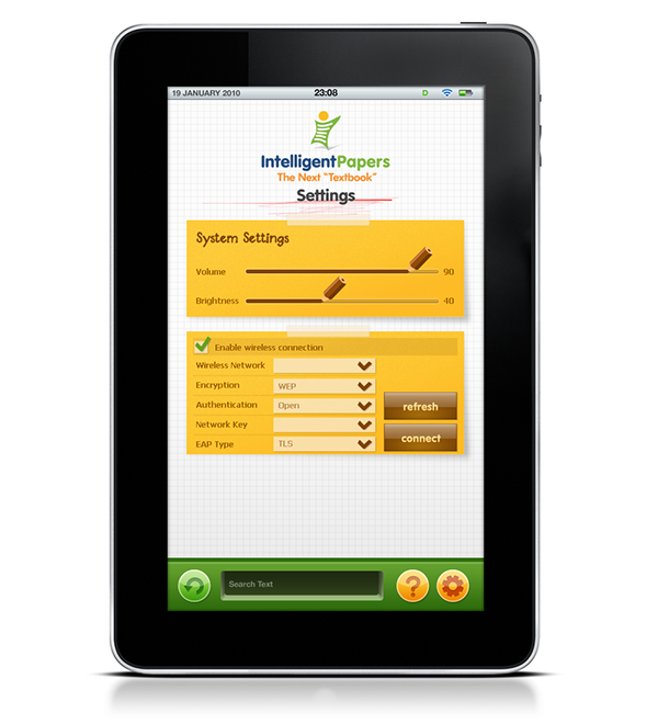 intelligentpapers intelligent papers Icon lesson book Education iPad