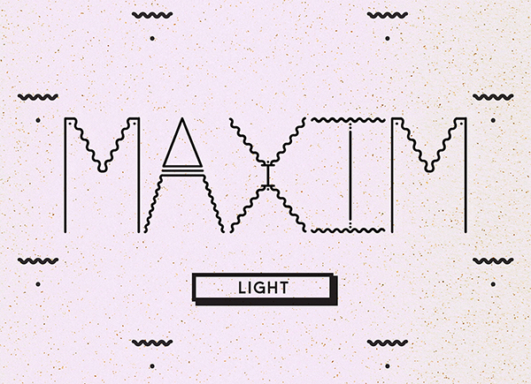 type lettering shapes geometric gif free creative new Typeface download graphics graphic art Wiggles lines