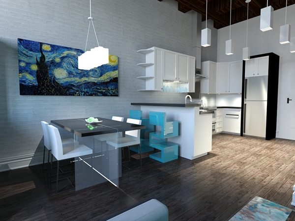 Philadelphia studio apartment 2015 on philau portfolios for Model studio apartments