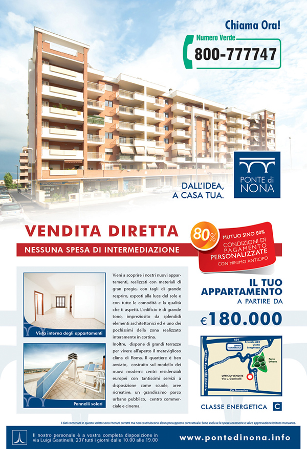 Graphics at gruppo leonardo caltagirone on behance for Case in vendita ponte di nona