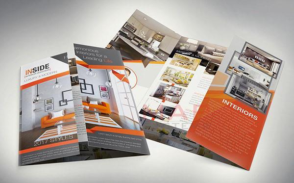 Creative Interior Design Brochure On Wacom Gallery