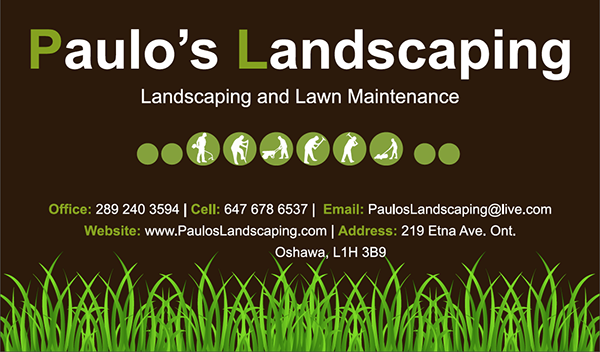 Thank you for Landscaping business