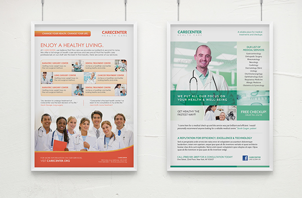 Medical poster templates download free