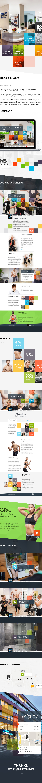 Webdesign Web UI flat photo square minimal dashboard fitness workout