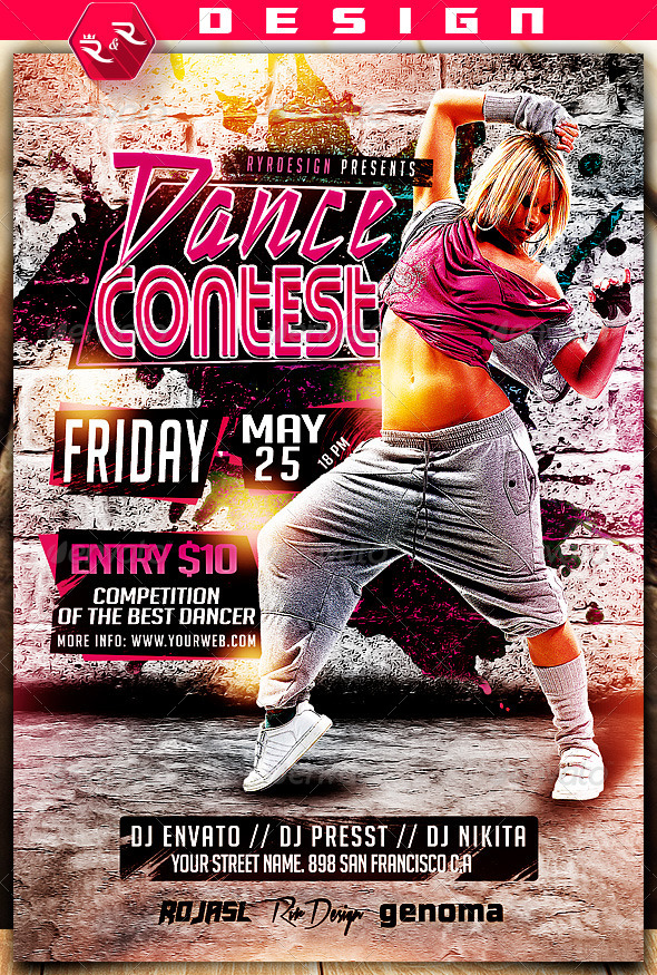 Contest Flyers Dolapgnetband