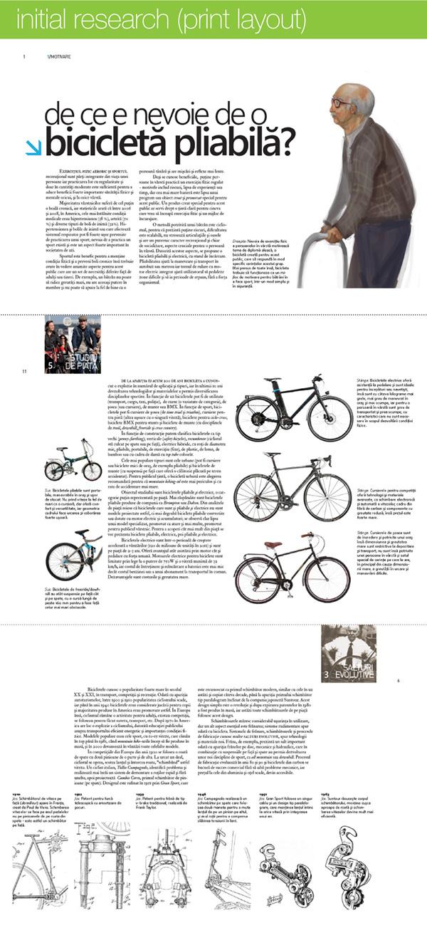 Self-folding electric bicycle