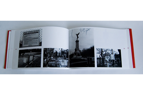 Montreal  forbidden spaces photographic essay book