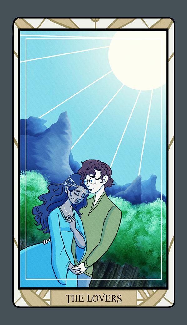 Dawn's Story (Tarot Cards) On SCAD Portfolios