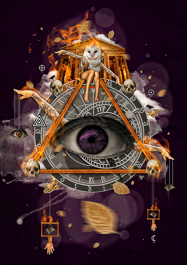 All Seeing Eye On Behance