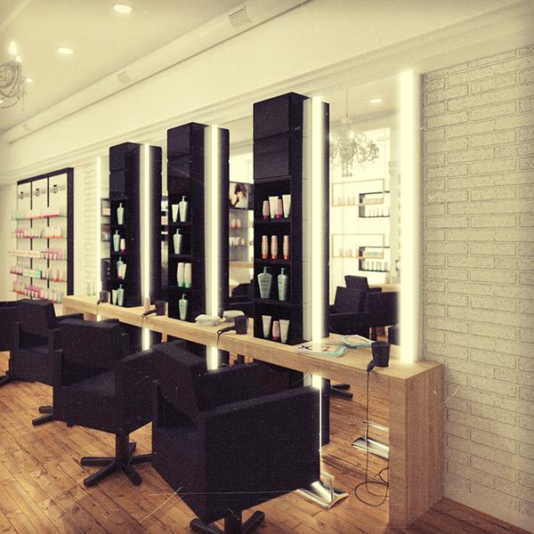 salon interior designer in kolkata price backstage beauty salon design and visualization on behance