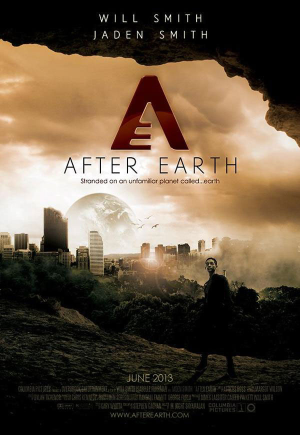 Will Smith/Jaden Smith - After Earth Movie Poster on Behance