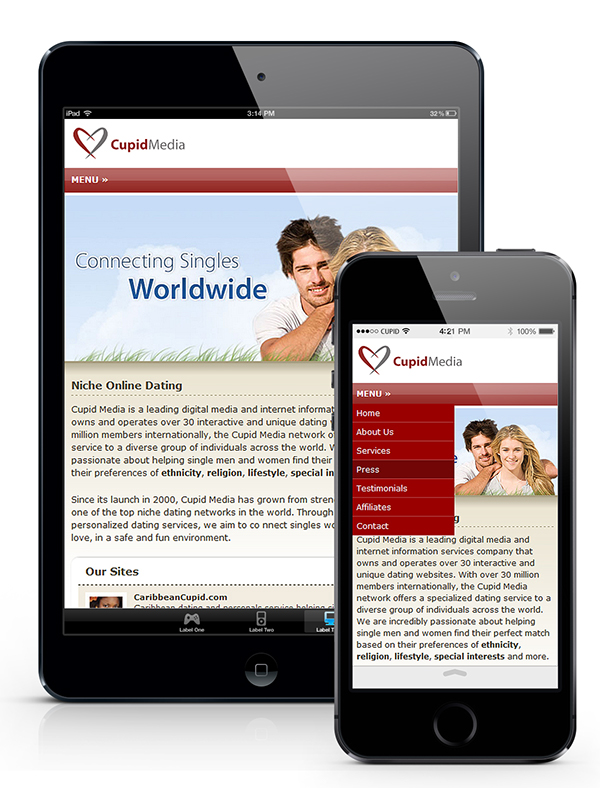 Cupid media dating sites