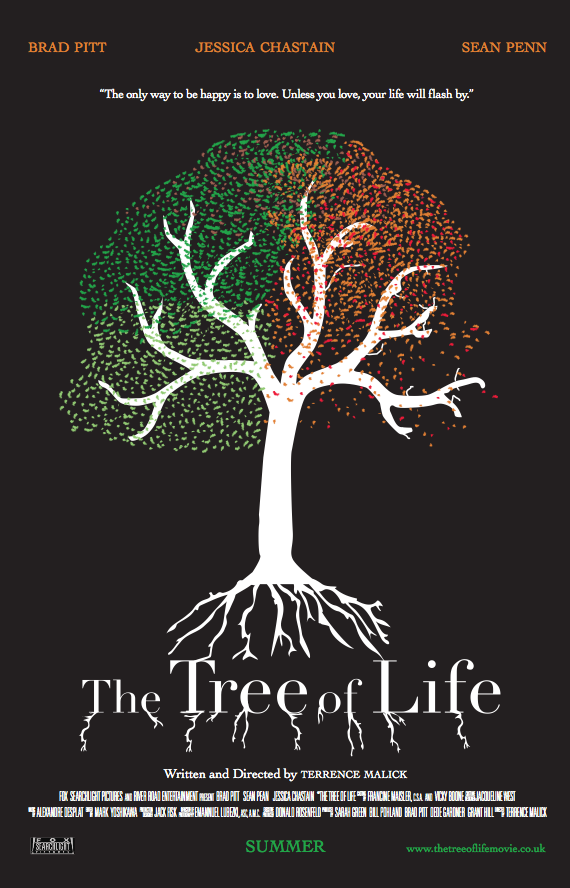 Movie Poster Tree The Tree of Life Movie Poster