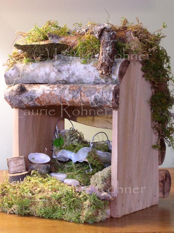 Woodland Garden Fairy Houses On Behance