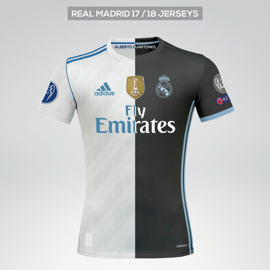 5dd7f115f Real Madrid 17 18 Kits. Alberto Cuartones •. Follow Following Unfollow.  Follow me on Instagram