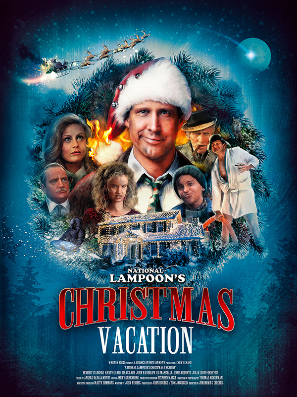 National Lampoon S Christmas Vacation On Behance