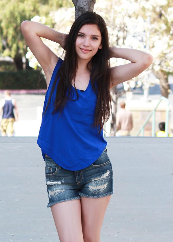 Mybelin Hernandez modeling acting