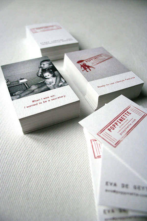 Poppinette Logo & Business Cards on Behance