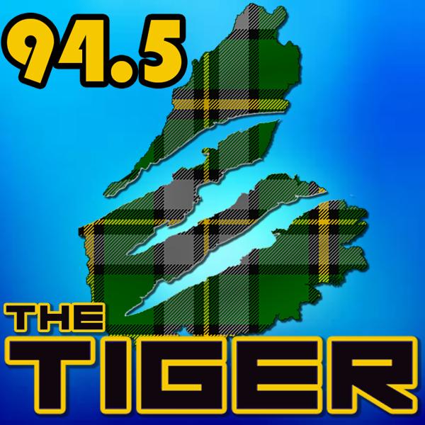 cape breton Radio Station Logo Design tiger tartan nova scotia Canada