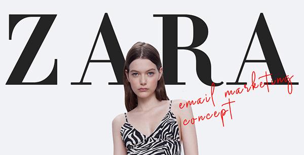 ZARA Newsletter Concept