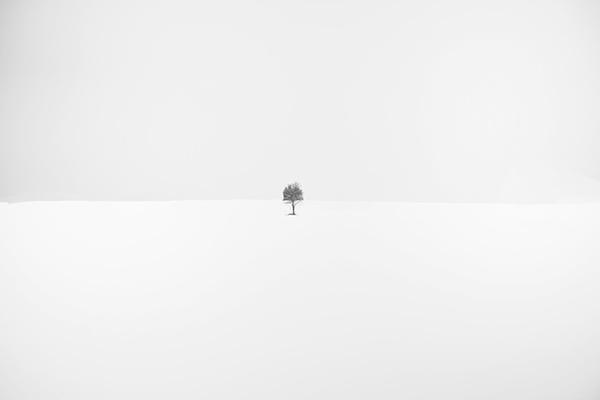 minimaliste Auvers sur Oise minimal minimalist White snow