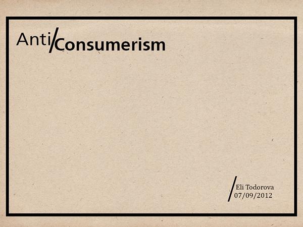 graphic design consumerism dissertation