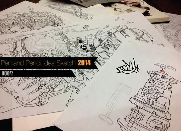 優秀的26個鉛筆素描作品欣賞