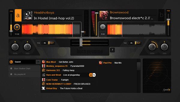 soundcloud Coca-Cola Burn Energy Drink mixing dj tool audiotool