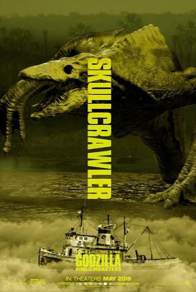 Godzilla King Of The Monsters Key Art On Behance
