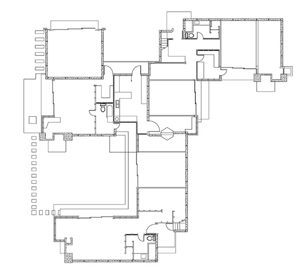 schindler house floor plan - home design and style