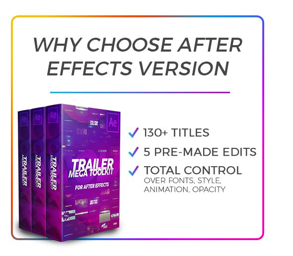 Why Choose After Effects
