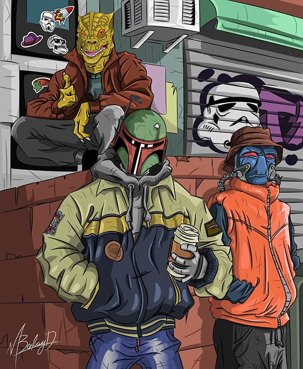 Bounty Hunters Street Style