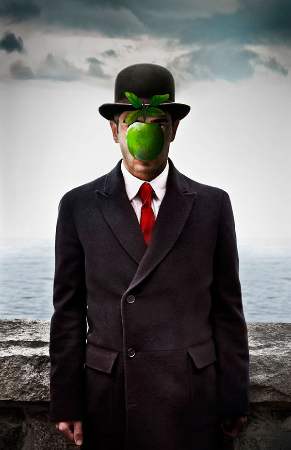 Rene Magritte The Son Of Man Son of Man on Behance