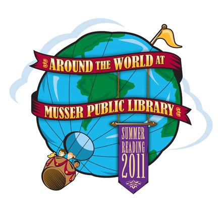 balloon library summer children kids muscatine world globe adventure