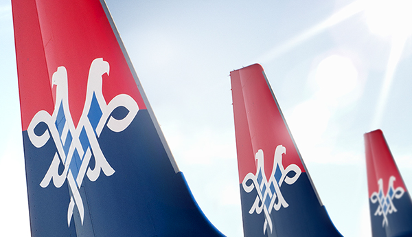airline,AIR SERBIA,etihad,airplane,Airways,national,Airbus,Serbia,logo,symbol,coat of arms,crest,jat,stewardess,Livery